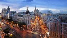 Gran Via - Madrid (og omegn)