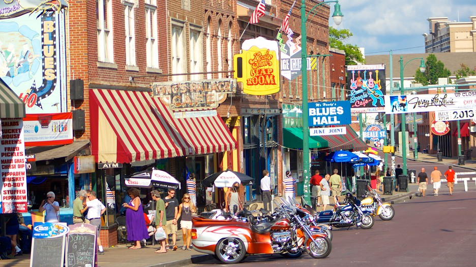 Beale Street in Memphis Tennessee – Tourist Attractions Map In Memphis