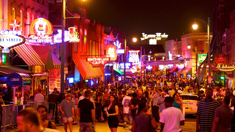Beale Street in Memphis Tennessee – Memphis Tourist Attractions Map