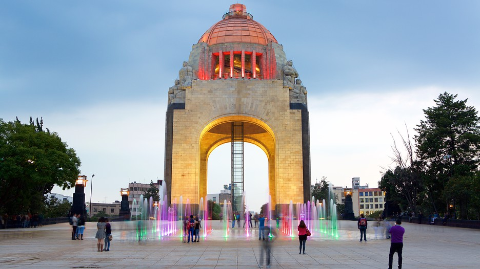 Monument To The Revolution In Mexico City,