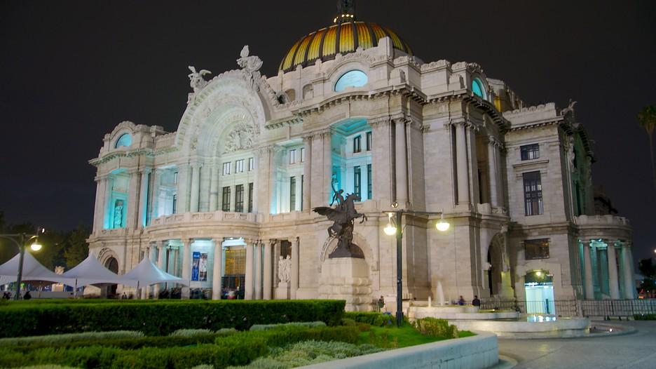 Palacio de bellas artes mexico city attraction for Arquitectura 7 bellas artes
