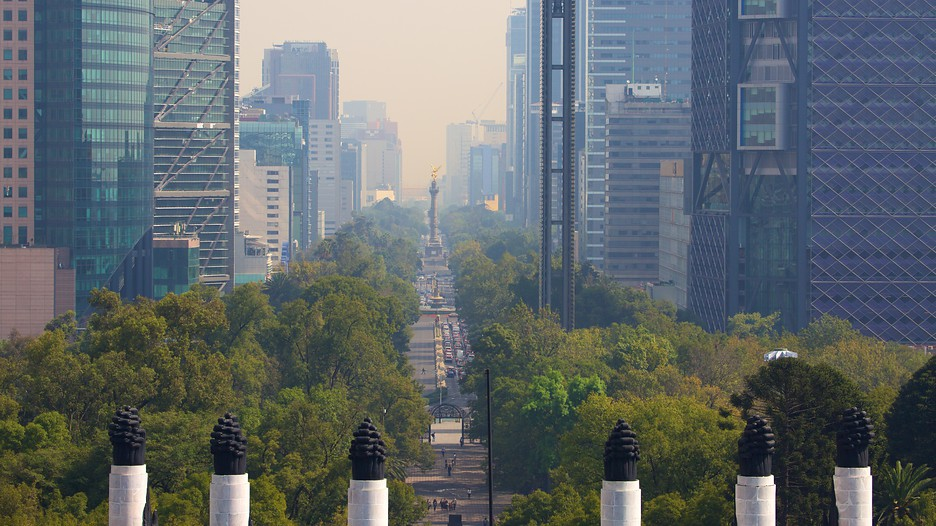 The best paseo de la reforma vacation packages 2017 save for Vacation to mexico city