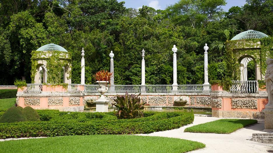 Vizcaya Museum And Gardens In Miami Florida