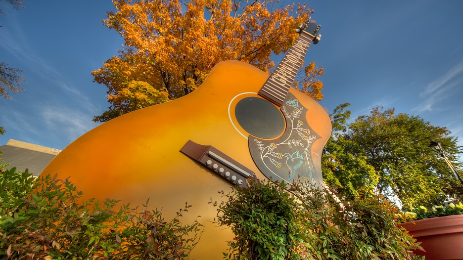Grand Ole Opry in Nashville Tennessee – Nashville Tourist Attractions Map