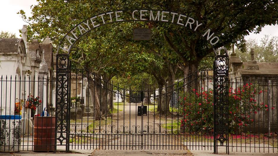 Lafayette Cemetery In New Orleans, Louisiana