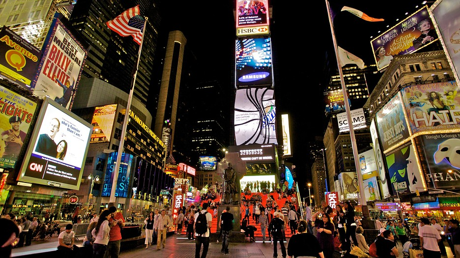 Times Square In New York New York Expedia Ca