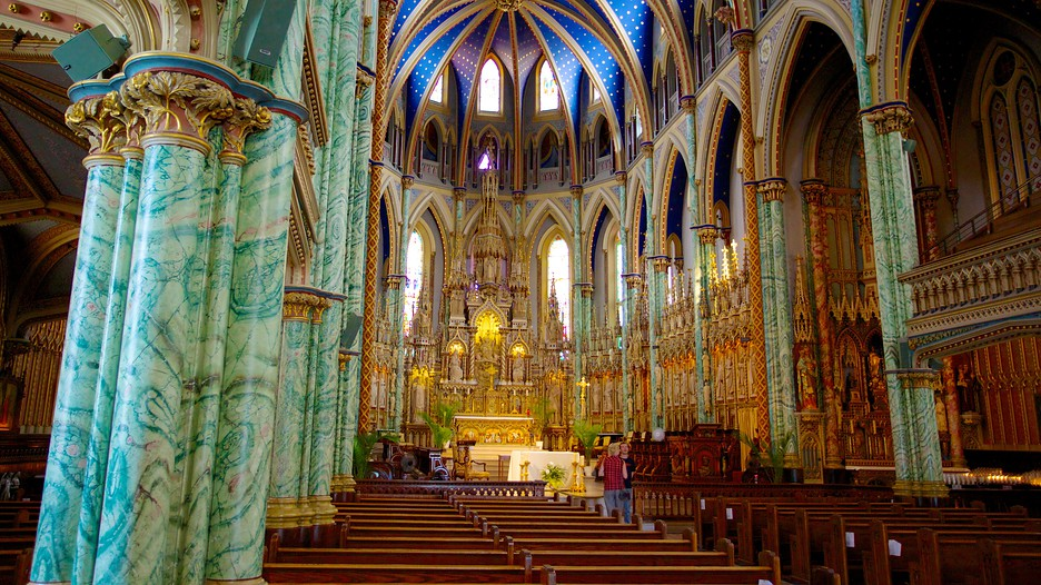 NotreDame Cathedral Basilica in Ottawa Ontario – Ottawa Tourist Attractions Map