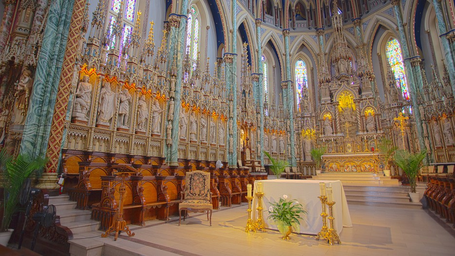 Car Rental With Car Seat >> Notre-Dame Cathedral Basilica in Ottawa, Ontario | Expedia.ca
