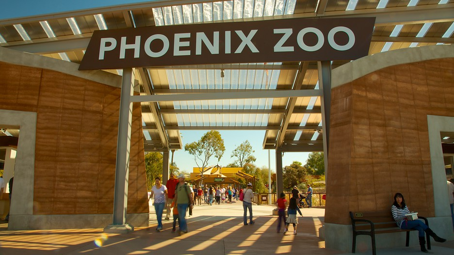 The Phoenix Zoo opened in and is the largest privately owned, non-profit zoo in the United States. Located in Phoenix, Arizona, the zoo was founded by Robert Maytag, a member of the Maytag family, and operates on acres (51 ha) of land in the Papago Park area of Phoenix.