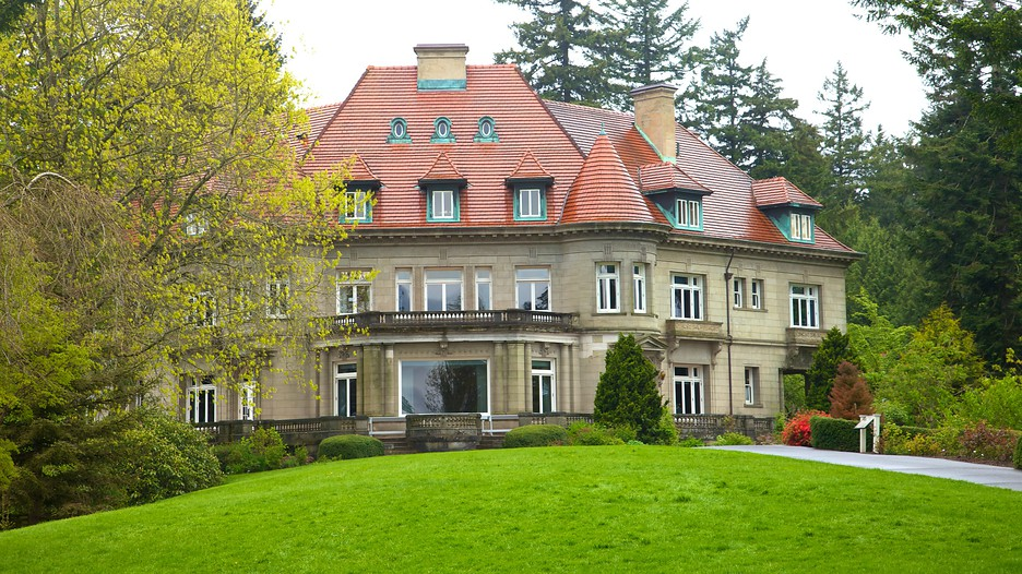 Pittock mansion in portland oregon expedia for Vacation mansions