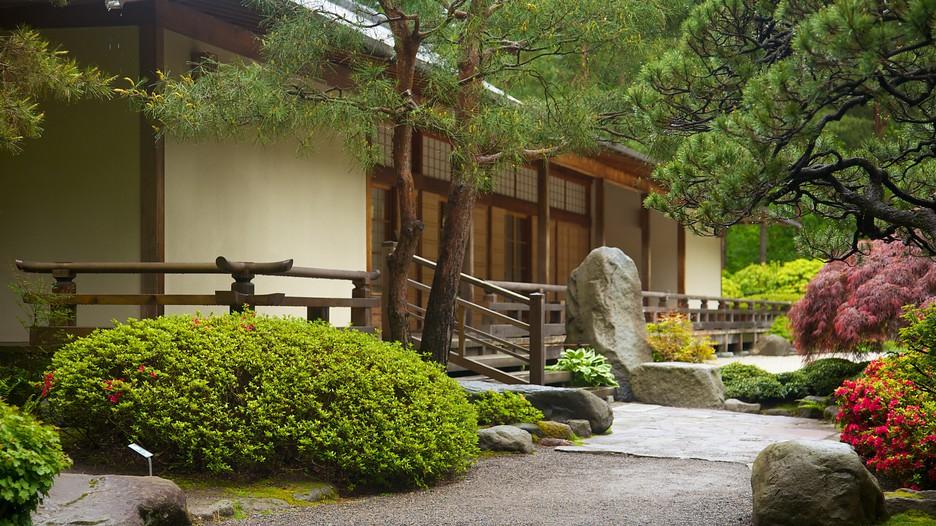 Portland Japanese Garden In Portland Oregon