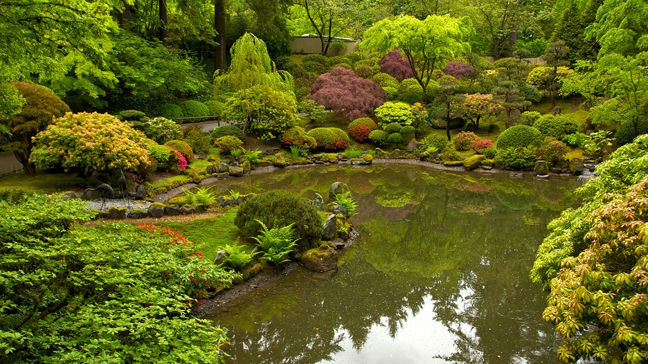 Portland japanese garden in portland oregon expedia for Your pond japan