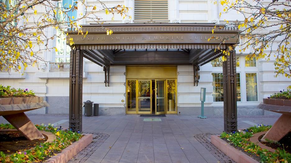 Joseph Smith Memorial Building In Salt Lake City Utah