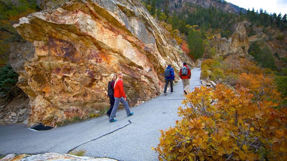 Timpanogos Cave National Monument In American Fork Utah