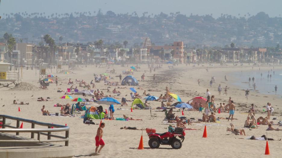 Pacific Beach Park San Diego Ca  United States