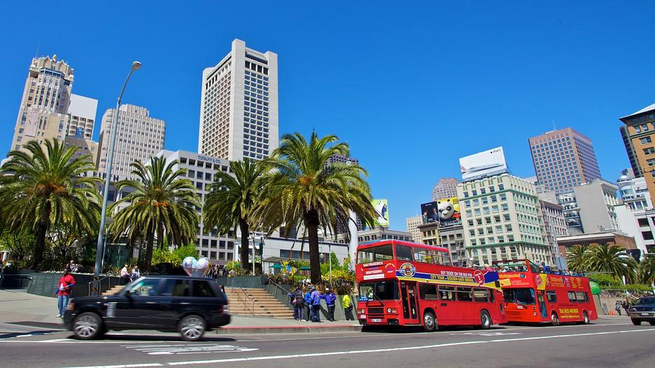 Union Square Punti Di Interesse A San Francisco Con