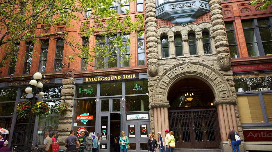 Image result for pioneer square seattle