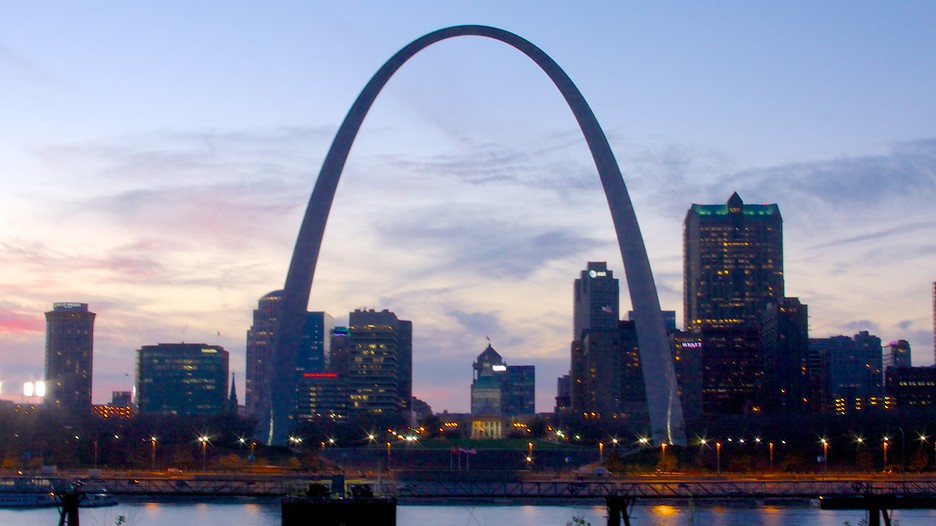 Gateway arch punti di interesse a st louis con for St louis architecture
