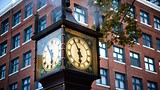 Gastown Steam Clock - Vancouver - Tourism Media