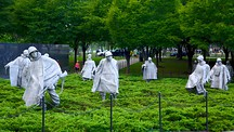 Korean War Veterans Memorial - Washington