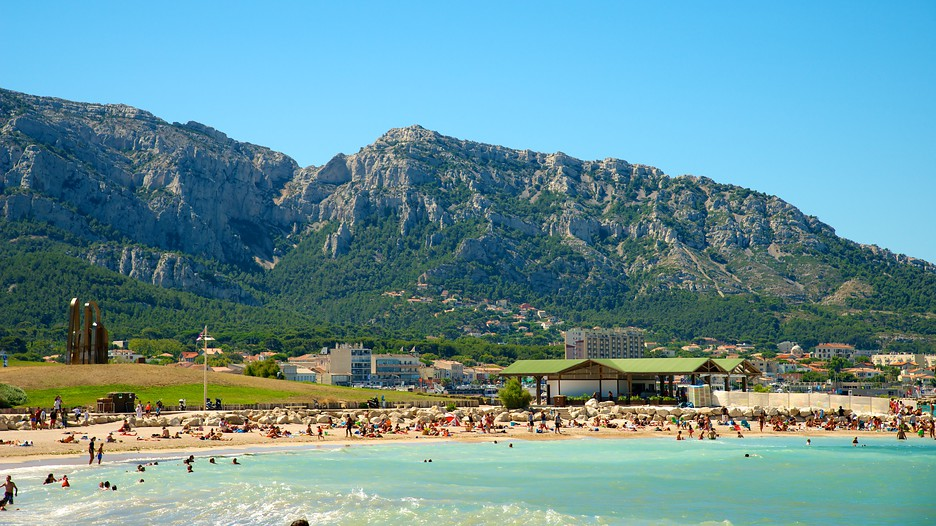 borely beach in marseille expedia. Black Bedroom Furniture Sets. Home Design Ideas