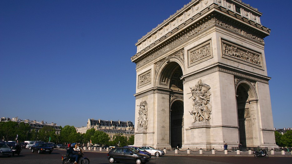 arc de triomphe in paris expedia. Black Bedroom Furniture Sets. Home Design Ideas