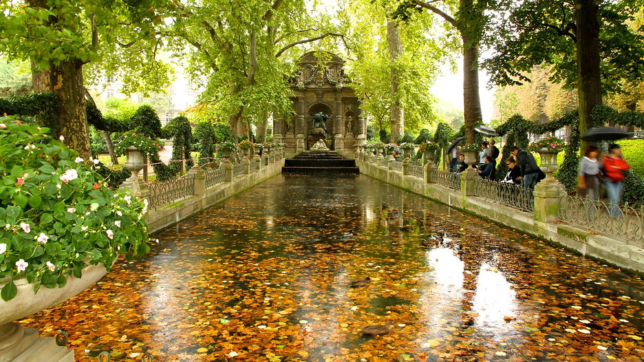 Luxembourg gardens in paris expedia for Les jardins en france