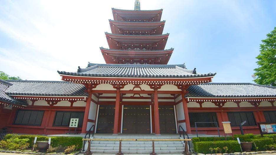 Cùng vé máy bay đi Tokyo khám phá nét độc đáo của chùa Sensoji