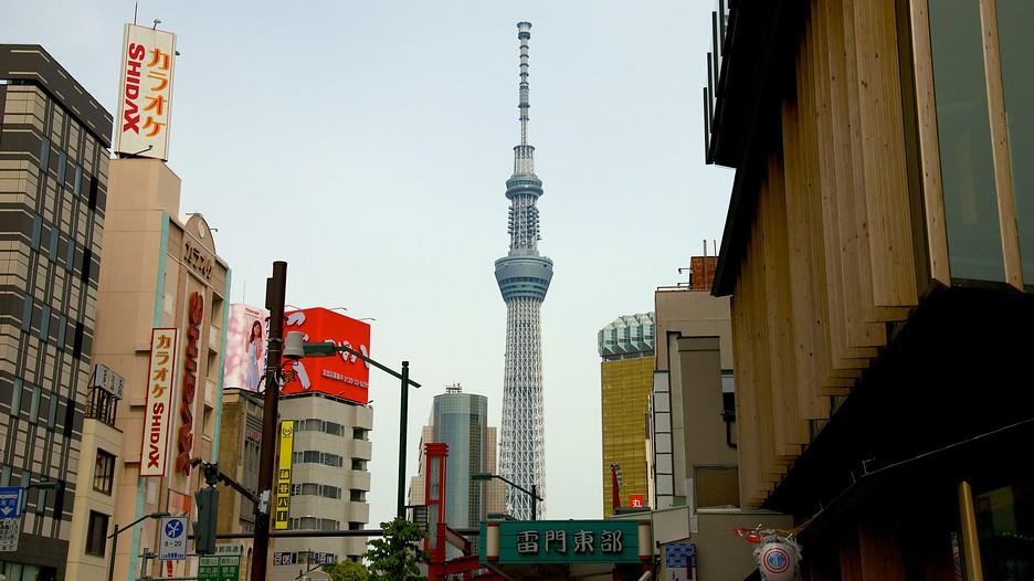 Book vé máy bay đi Tokyo ngắm cảnh trên đỉnh Tokyo Sky Tree