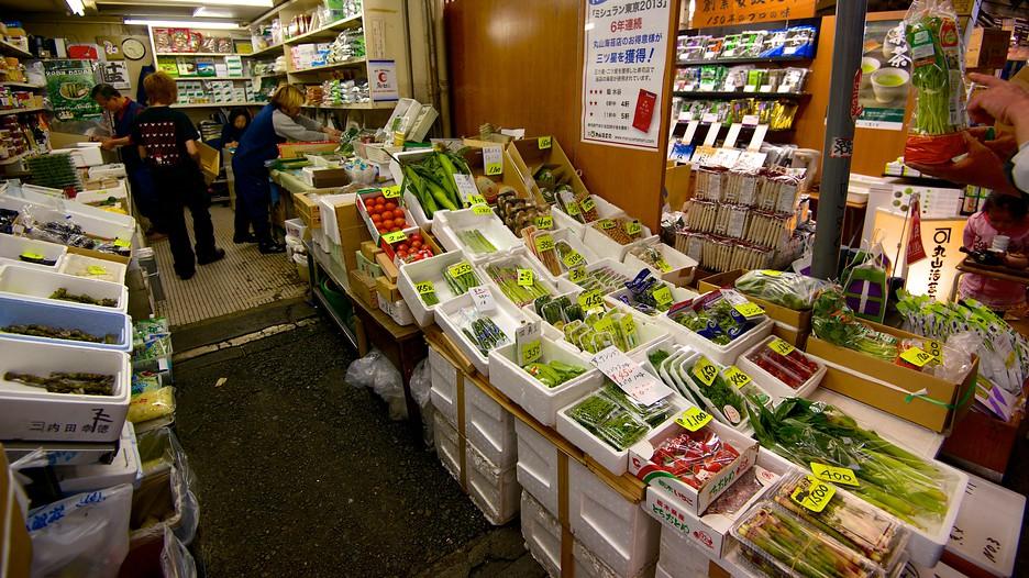 Tsukiji fish market in tokyo expedia for Tsukiji fish market