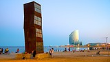Showing item 2 of 25. Barceloneta Beach - Barcelona - Tourism Media