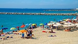 Showing item 15 of 25. Llevant Beach - Barcelona - Tourism Media