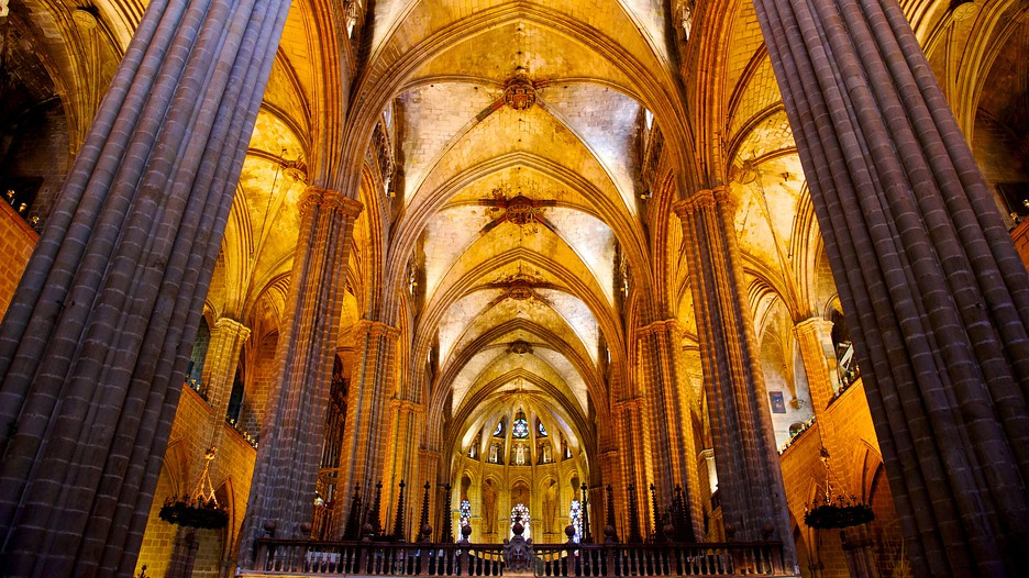 Kathedraal van barcelona barcelona for Catedral de barcelona interior