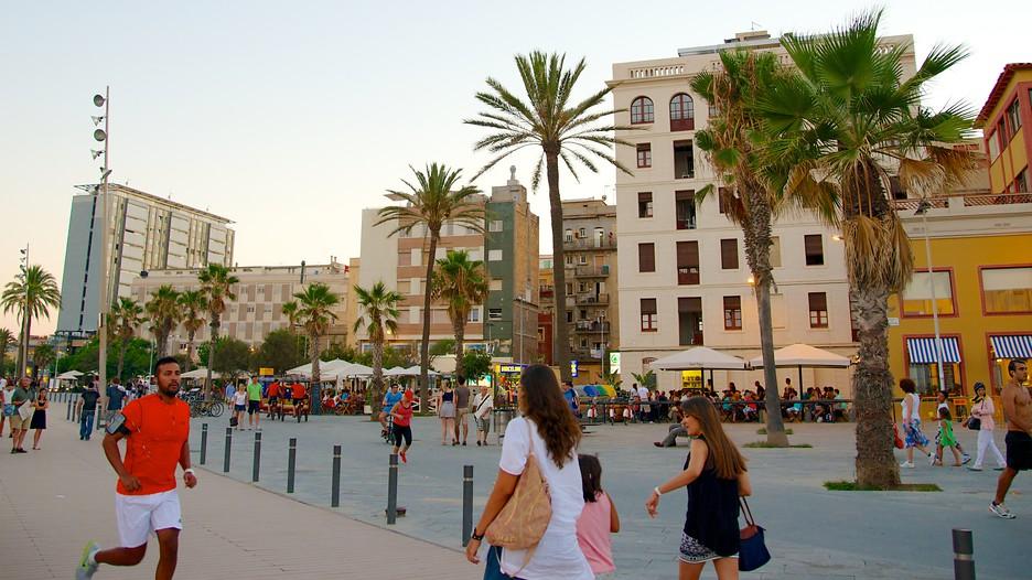 Spiaggia di barceloneta punti di interesse a barcellona for Case vacanze a barceloneta