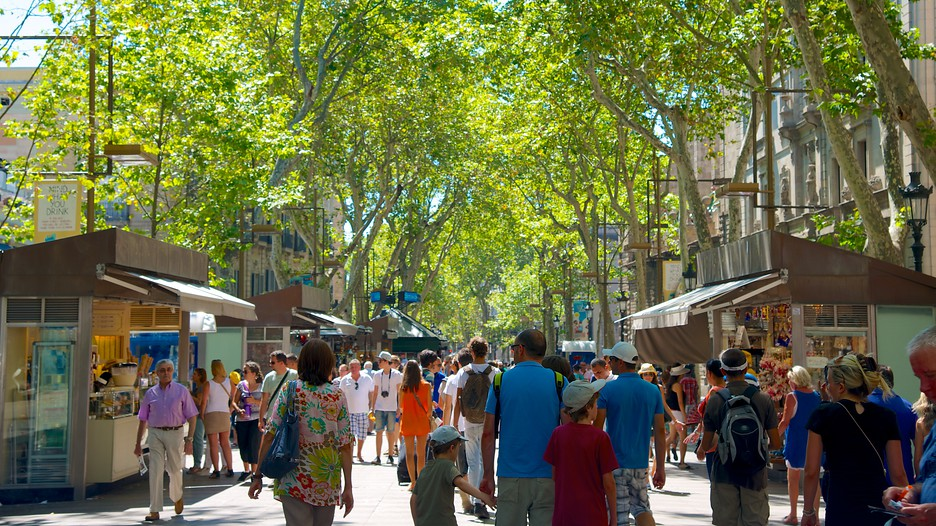 Las Ramblas In Barcelona Expedia