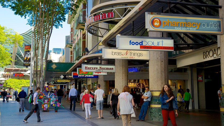Queen Street Mall Brisbane Queensland Attraction