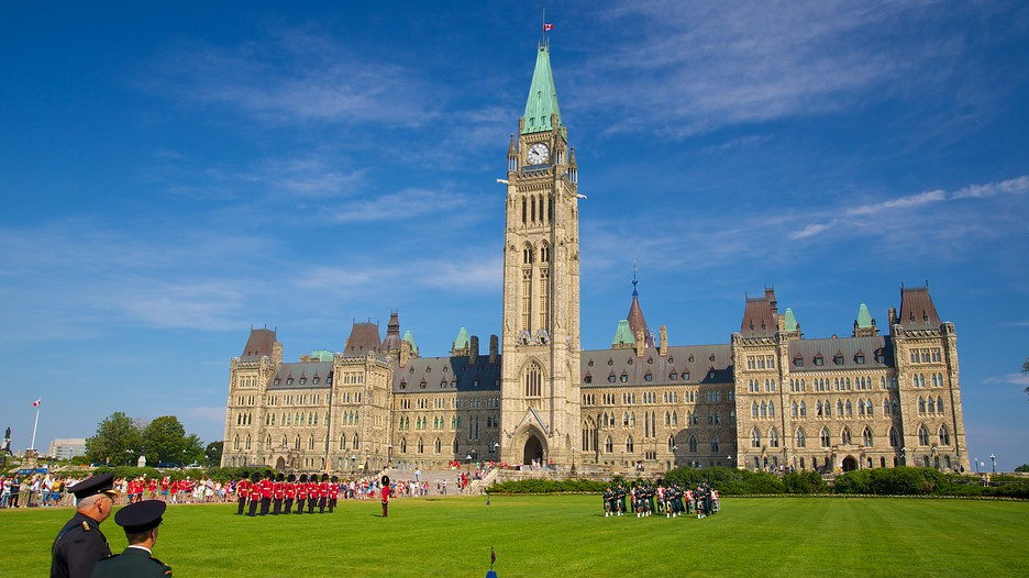 Peace Tower in Ottawa Ontario – Ottawa Tourist Attractions Map