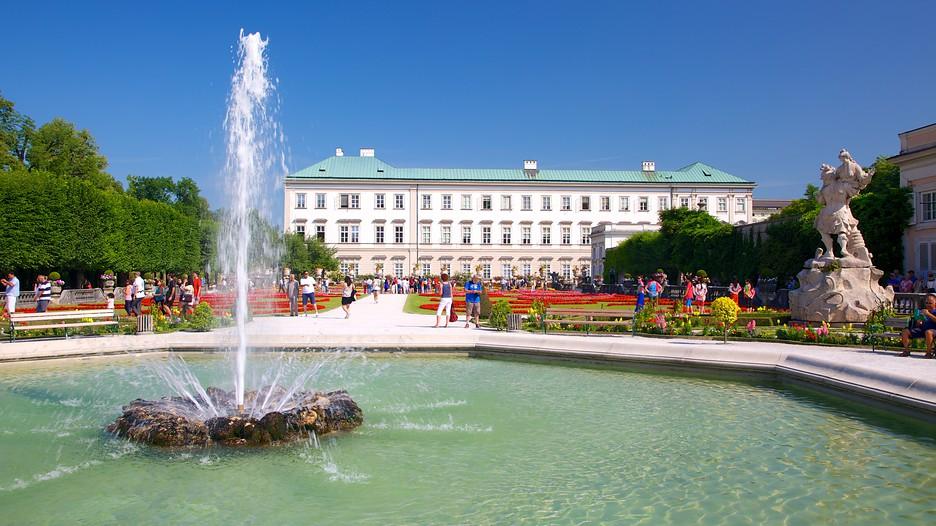 Austria - Salzburg - Schloss Mirabell