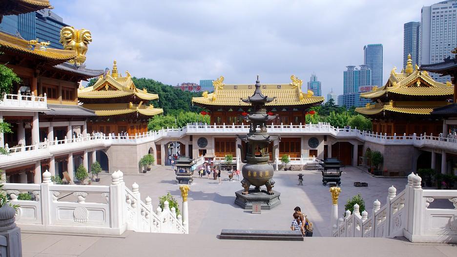 Resultado de imagem para sino de bronze no templo Jing'an