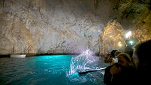 Emerald Grotto - Amalfi Coast