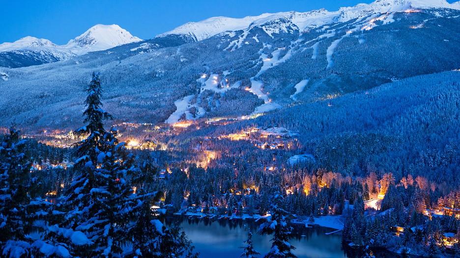 Whistler Blackcomb Ski Resort In Whistler British