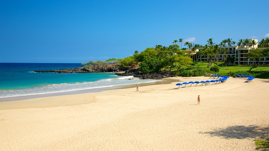 Hapuna Beach State Park On The Big Island Of Hawaii