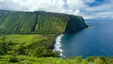 Showing item 64 of 65. Waipio Valley Lookout - Hawaii Island - Tourism Media