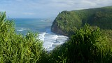 Showing item 28 of 65. Pololu Valley Overlook - Hawaii Island - Tourism Media