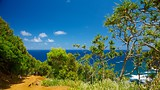 Showing item 8 of 65. Pololu Valley Overlook - Hawaii Island - Tourism Media