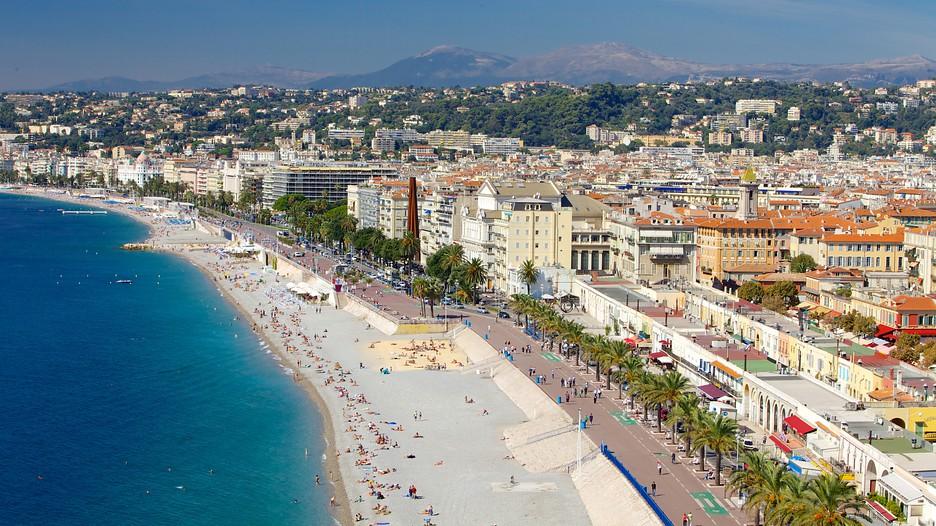 Promenade des Anglais - Улицы и площади Ниццы - Достопримечательности Ниццы, что посмотреть в Ницце. Путеводитель по городу Ницца.