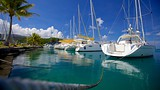 Showing item 58 of 88. Raiatea Marina - Tahiti - Tourism Media