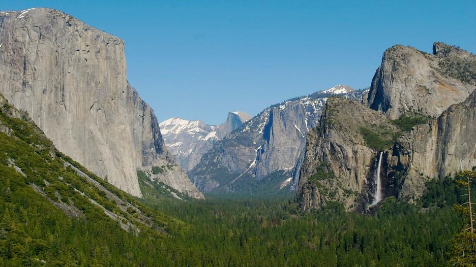Yosemite valley punti di interesse a parco nazionale di for Cabine di alloggio del parco nazionale di yosemite