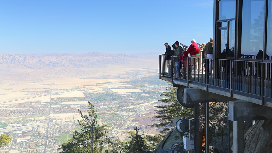 Palm Springs Aerial Tramway in Palm Springs – Palm Springs Tourist Attractions Map