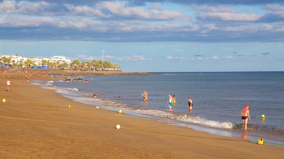 Puerto del carmen beach in tias expedia - Car rental puerto del carmen ...
